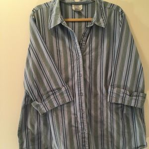 Only Necessities Striped Shirt